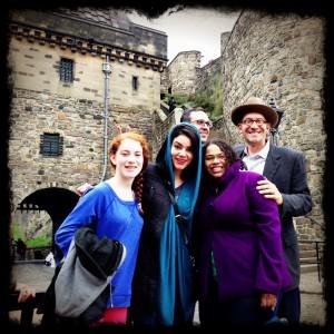 Storming Edinburgh Castle