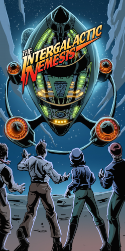 Intergalactic Nemesis Poster