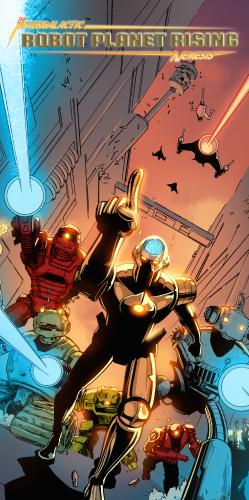 Robot Planet Rising Poster