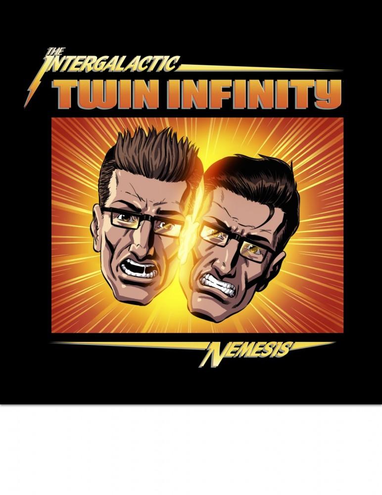 Twin Infinity Shirt Design